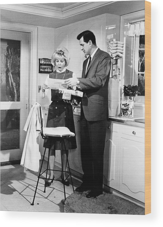 1964 Movies Wood Print featuring the photograph Send Me No Flowers, From Left, Doris by Everett