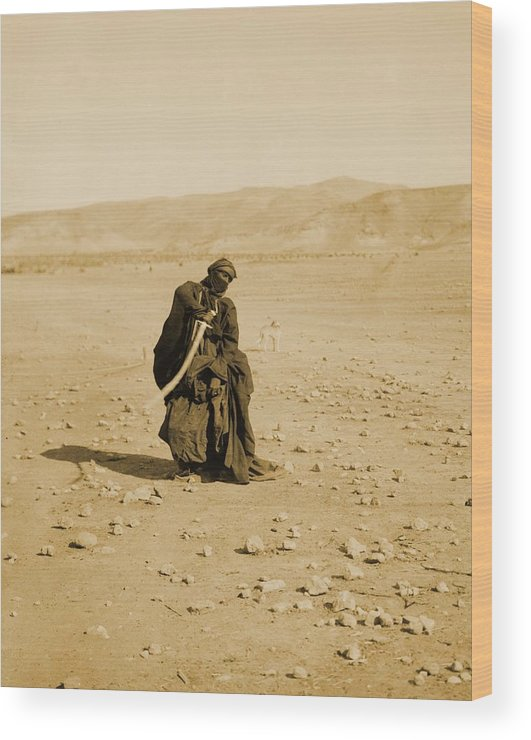 History Wood Print featuring the photograph Bedouin Women Performing Traditional by Everett