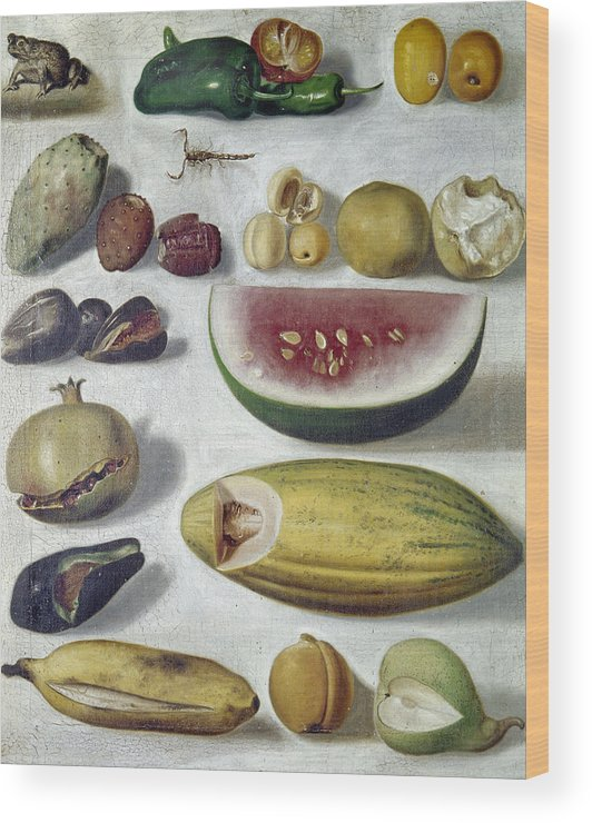 1874 Wood Print featuring the photograph Bustos: Still Life, 1874 by Granger