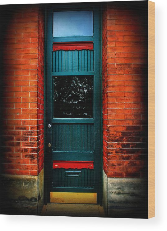 Door Wood Print featuring the photograph Classic Door by Perry Webster