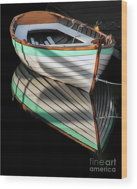 Classic Boats Wood Print featuring the photograph Still Water by Christopher Marona