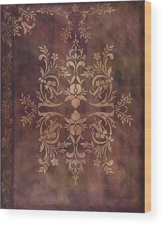 Decorative Wood Print featuring the painting Under Juliets Window by Joyce Hutchinson
