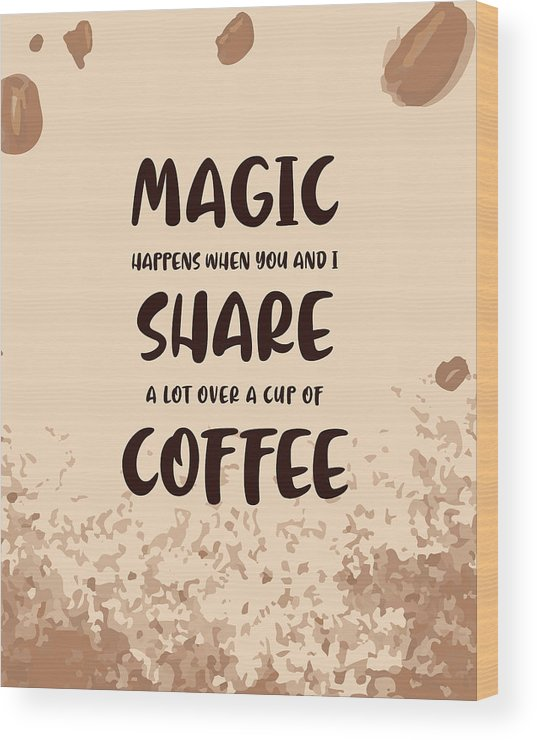 Coffee lovers wall art 3 x  quote print set Gift new home