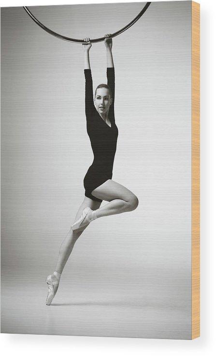 Ballet Dancer Wood Print featuring the photograph Modern Dancer by Lambada