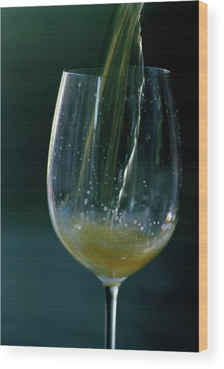 Beverage Wood Print featuring the photograph A Glass Of Beer by Romulo Yanes