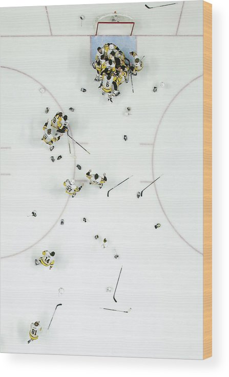 Playoffs Wood Print featuring the photograph Nhl Jun 11 Stanley Cup Finals Game 6 - by Icon Sportswire