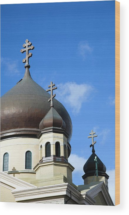 Outdoors Wood Print featuring the photograph Orthodox Church by Snap Decision