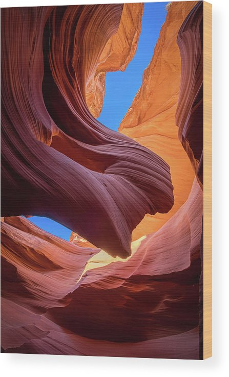 Amaizing Wood Print featuring the photograph Breeze Of Sandstone by Edgars Erglis