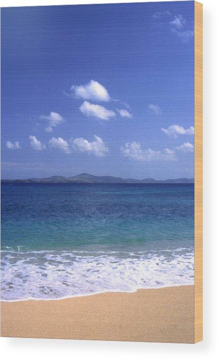 Okinawa Wood Print featuring the photograph Okinawa Beach 8 by Curtis J Neeley Jr