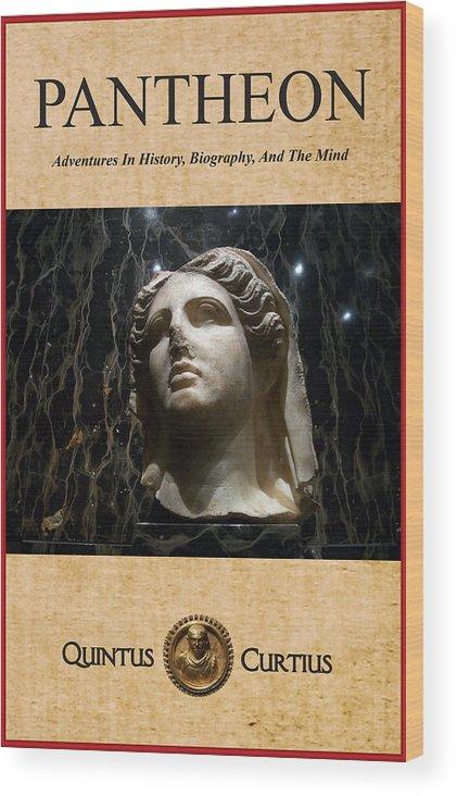 Pantheon Wood Print featuring the digital art Pantheon by Quintus Curtius
