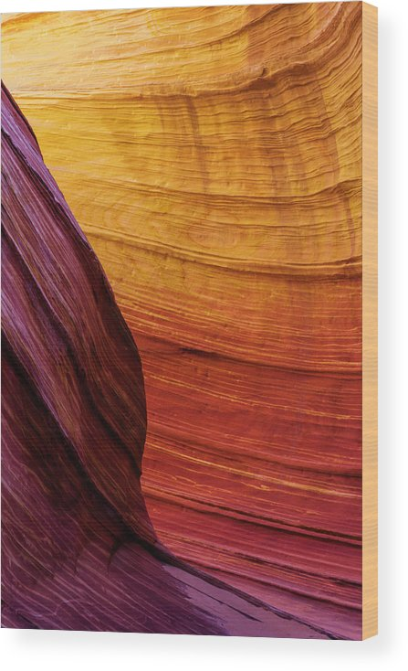 Rainbow Wood Print featuring the photograph Rainbow by Chad Dutson