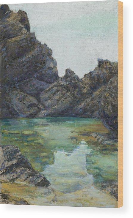 Saint Croix Wood Print featuring the painting Saint Croix by Billie Colson