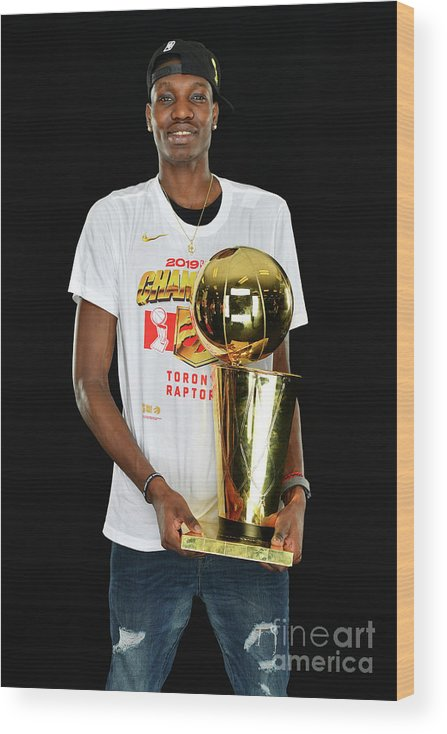 Playoffs Wood Print featuring the photograph Nba Finals Portraits by Jesse D. Garrabrant
