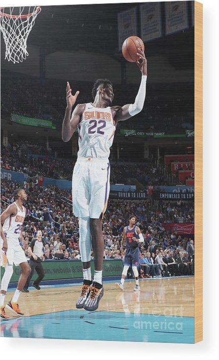 Nba Pro Basketball Wood Print featuring the photograph Phoenix Suns V Oklahoma City Thunder by Joe Murphy