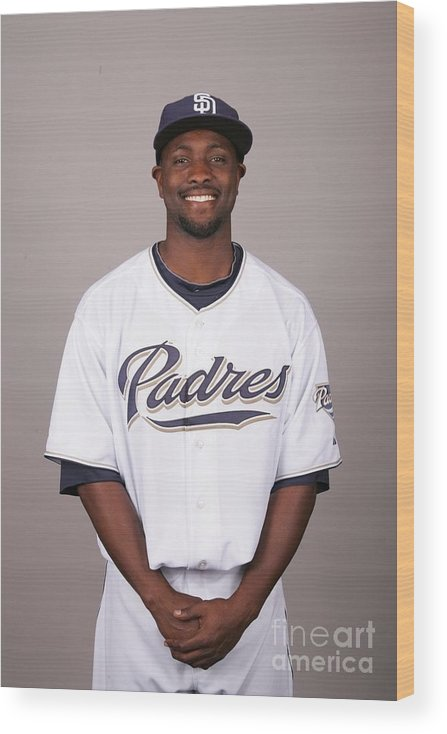 Media Day Wood Print featuring the photograph 2010 Major League Baseball Photo Day by Jason Wise
