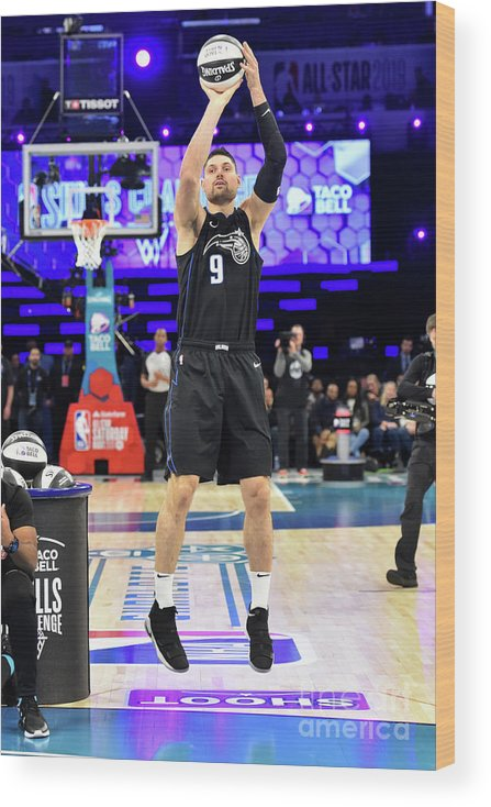 Nba Pro Basketball Wood Print featuring the photograph 2019 Taco Bell Skills Challenge by Jesse D. Garrabrant