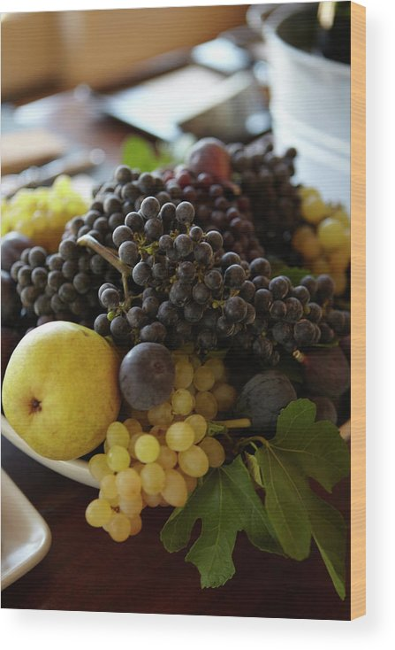 Healthy Eating Wood Print featuring the photograph Assorted Fruit by James Baigrie