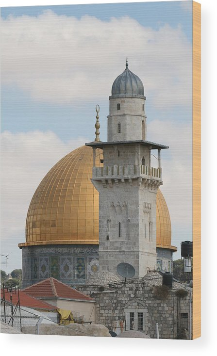 Arch Wood Print featuring the photograph Jerusalem by Yelena Strokin