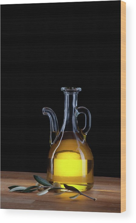 Greece Wood Print featuring the photograph Olive Oil by Portugal2004