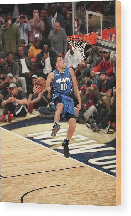 Event Wood Print featuring the photograph Aaron Gordon by Joe Murphy