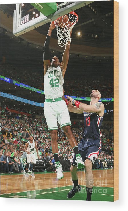 Playoffs Wood Print featuring the photograph Al Horford by Ned Dishman