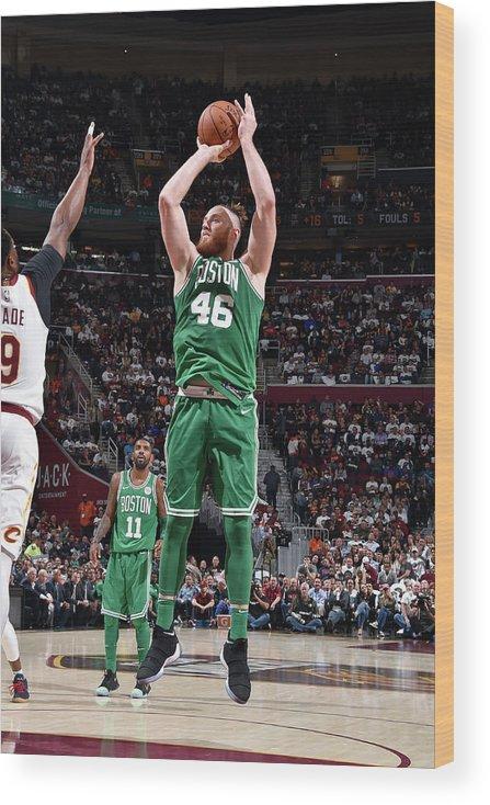 Nba Pro Basketball Wood Print featuring the photograph Aron Baynes by David Liam Kyle