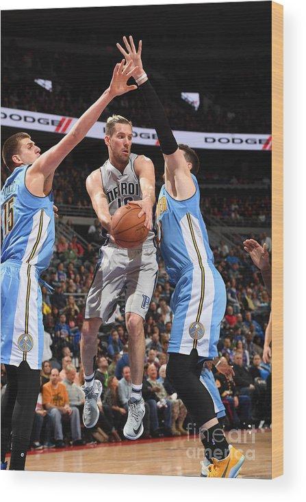 Nba Pro Basketball Wood Print featuring the photograph Beno Udrih by Chris Schwegler