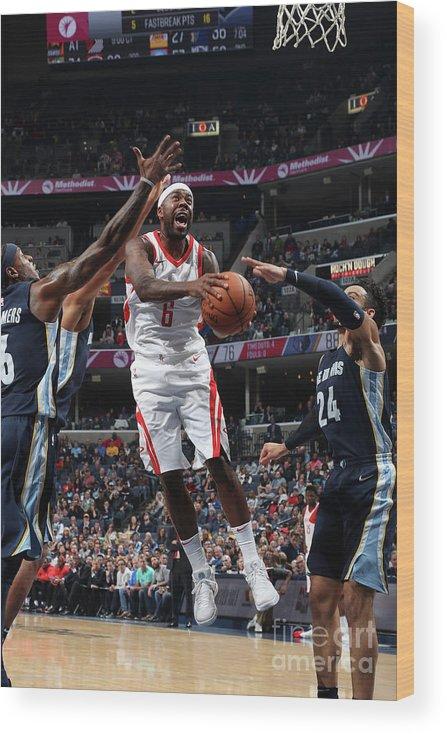 Nba Pro Basketball Wood Print featuring the photograph Bobby Brown by Joe Murphy