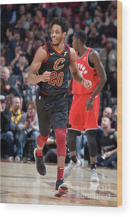 Nba Pro Basketball Wood Print featuring the photograph Brandon Knight by David Liam Kyle