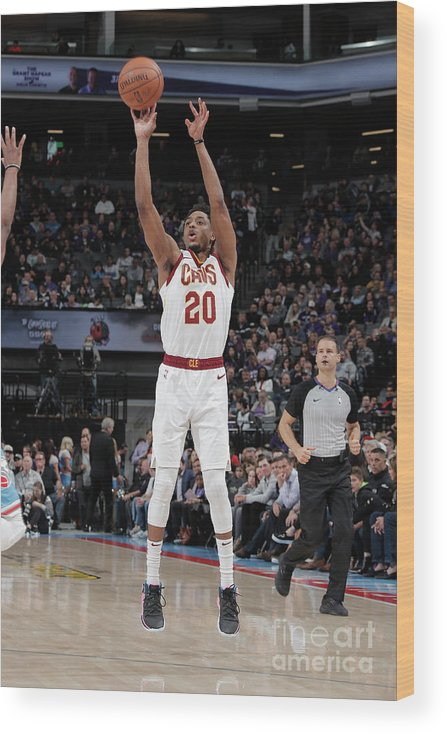 Nba Pro Basketball Wood Print featuring the photograph Brandon Knight by Rocky Widner