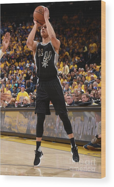 Playoffs Wood Print featuring the photograph Bryn Forbes by Andrew D. Bernstein