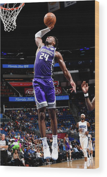 Nba Pro Basketball Wood Print featuring the photograph Buddy Hield by Fernando Medina