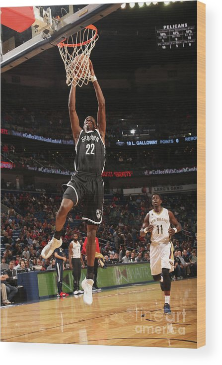 Smoothie King Center Wood Print featuring the photograph Caris Levert by Layne Murdoch