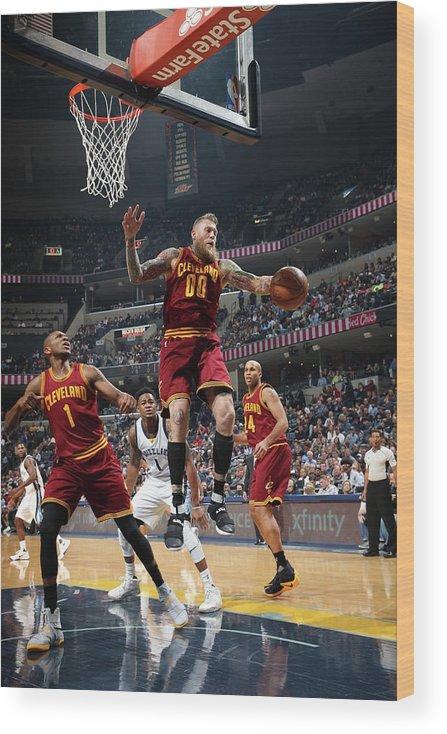 Nba Pro Basketball Wood Print featuring the photograph Chris Andersen by Joe Murphy