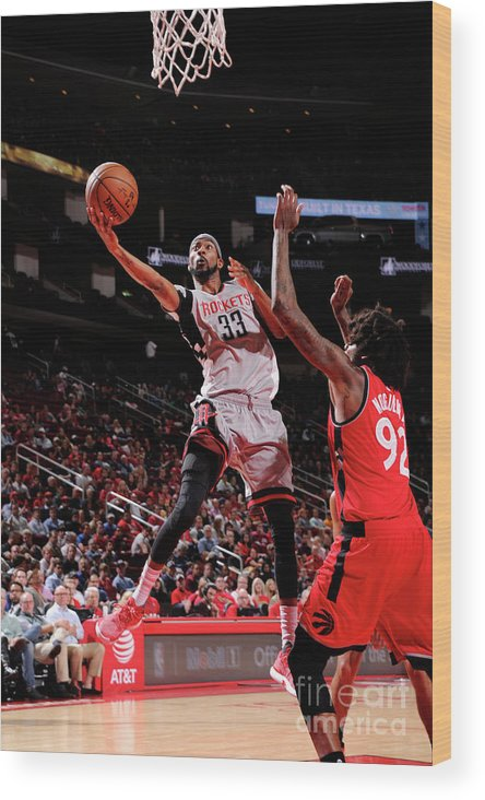 Nba Pro Basketball Wood Print featuring the photograph Corey Brewer by Bill Baptist