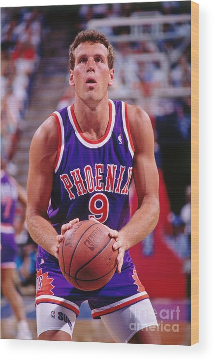 Nba Pro Basketball Wood Print featuring the photograph Dan Majerle by Rocky Widner