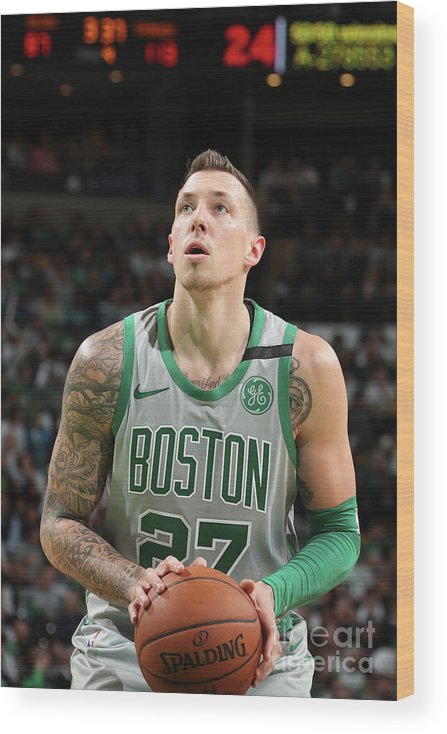 Nba Pro Basketball Wood Print featuring the photograph Daniel Theis by Nathaniel S. Butler