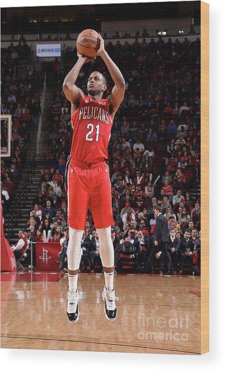 Nba Pro Basketball Wood Print featuring the photograph Darius Miller by Bill Baptist