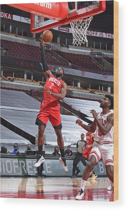 Nba Pro Basketball Wood Print featuring the photograph David Nwaba by Randy Belice