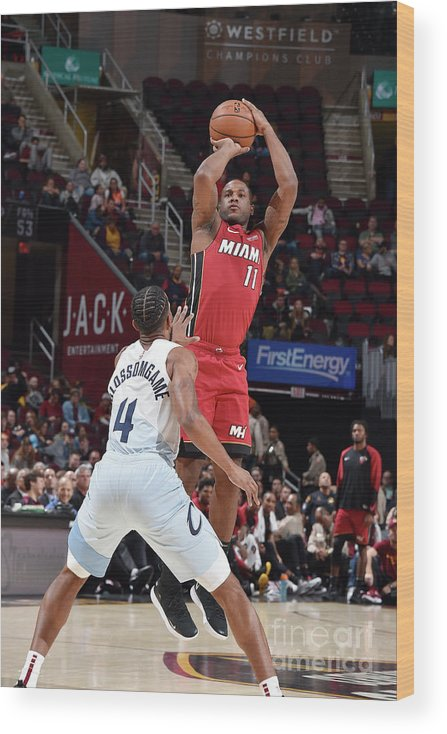 Nba Pro Basketball Wood Print featuring the photograph Dion Waiters by David Liam Kyle