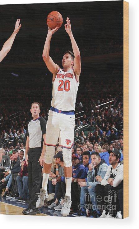 Nba Pro Basketball Wood Print featuring the photograph Doug Mcdermott by Nathaniel S. Butler