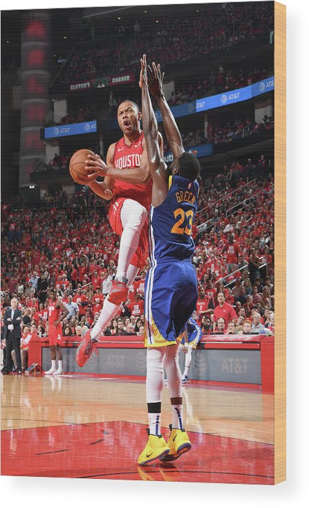 Playoffs Wood Print featuring the photograph Eric Gordon by Andrew D. Bernstein