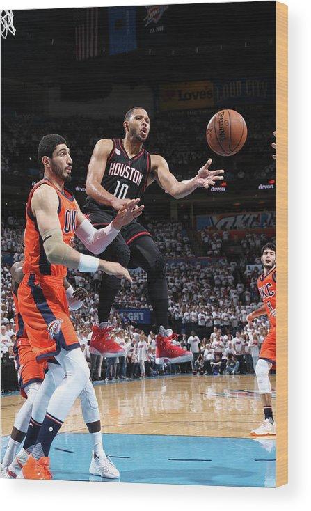 Playoffs Wood Print featuring the photograph Eric Gordon by Layne Murdoch