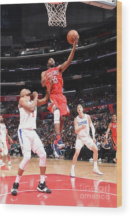 California Wood Print featuring the photograph E'twaun Moore by Andrew D. Bernstein