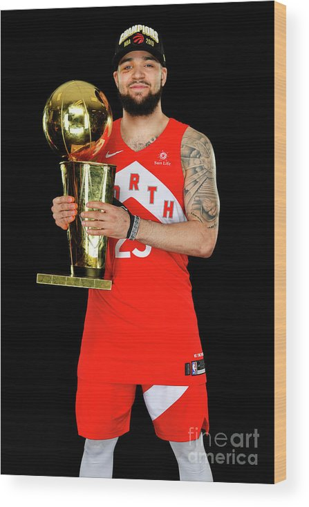 Playoffs Wood Print featuring the photograph Fred Vanvleet by Jesse D. Garrabrant