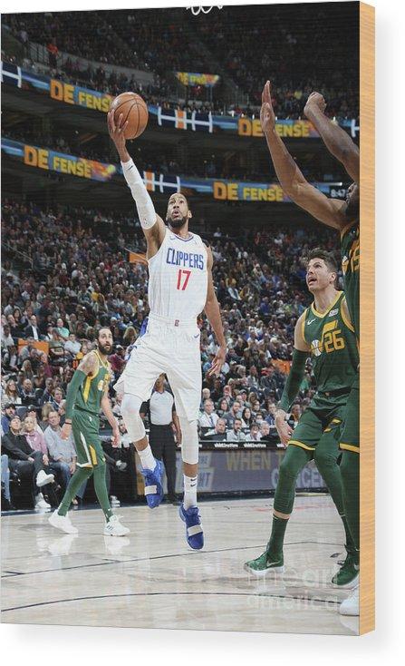 Nba Pro Basketball Wood Print featuring the photograph Garrett Temple by Melissa Majchrzak