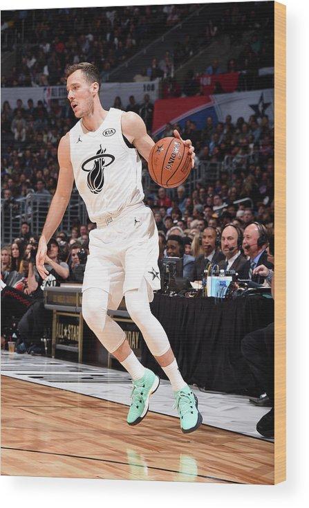 Nba Pro Basketball Wood Print featuring the photograph Goran Dragic by Andrew D. Bernstein