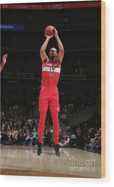 Nba Pro Basketball Wood Print featuring the photograph Jabari Parker by Ned Dishman