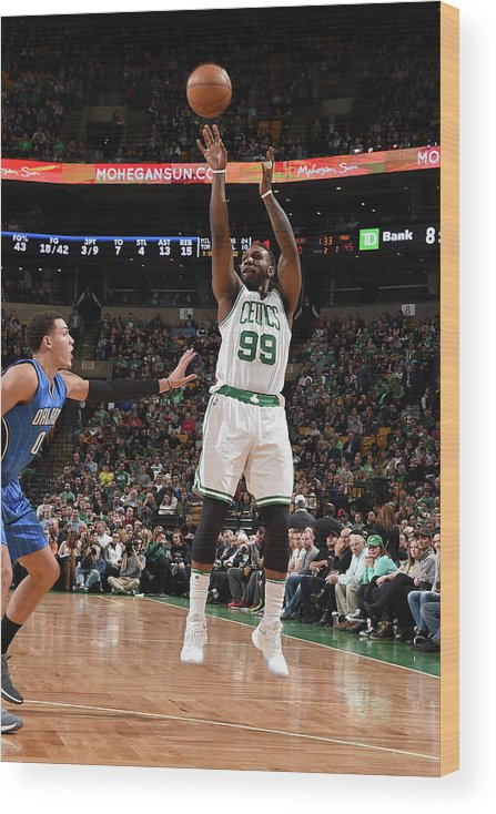 Nba Pro Basketball Wood Print featuring the photograph Jae Crowder by Steve Babineau