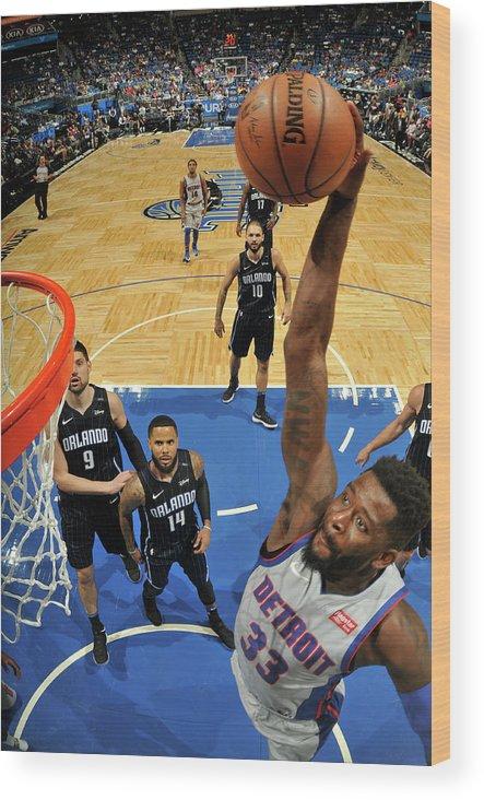 Nba Pro Basketball Wood Print featuring the photograph James Ennis by Fernando Medina